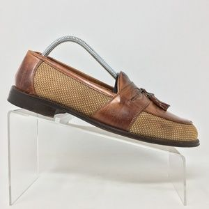 Johnson Murphy Cellini Tassel Loafers Mens 9 I4